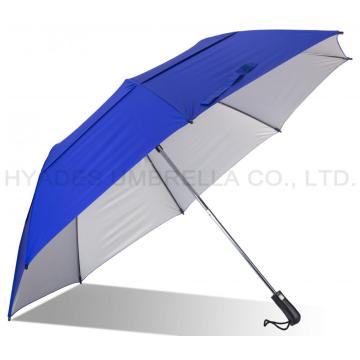 Big Size Vented Double Layered Folding Golf Umbrella