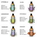 100ML Juniper Essential Oil Diffuser Pure Natural Essential Geranium Tea Tree Lemongrass Chamomile Cedarwood Cinnamon Aroma Oil