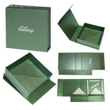 Luxury Pearl Paper Rigid Packaging Box