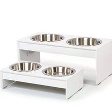 Stainless Steel Raised Pet Bowls