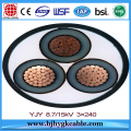 MV Copper Conductor  Concentric Neutral Cable