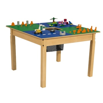 GIBBON legos wooden table Building Block Table