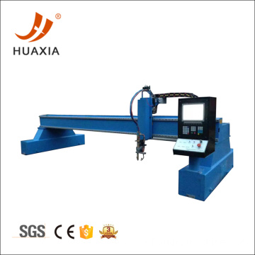 cnc gantry flame cutting machine with plasma cutting