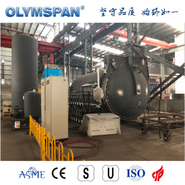 ASME standard composite fabrication autoclave