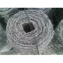 lowest price galvanized and pvc coated barbed wire