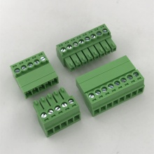 terminal block male and female pluggable connector