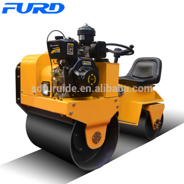 New Condition Mini Vibratory Steel Wheel Tandem Roller (FYL-850)