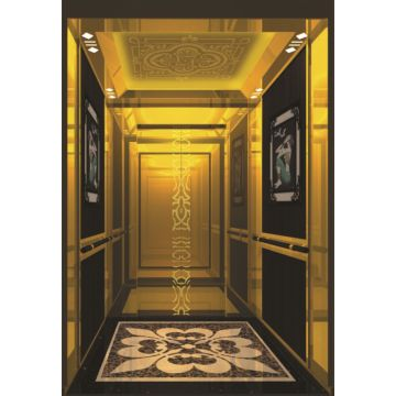 luxury decoration cabin office passenger elevator