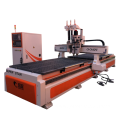 Double working table CNC router machine for sale
