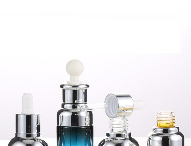 Cosmetic glass bottle essencestock dropper bottle