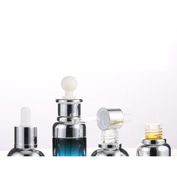 Cosmetic glass bottle essence/stock dropper bottle
