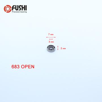 683 Ball Bearing 3*7*2 mm 10PCS ABEC-1 Non Standard Deep Groove Open Bearings S683K 618/3 1000083 L-730