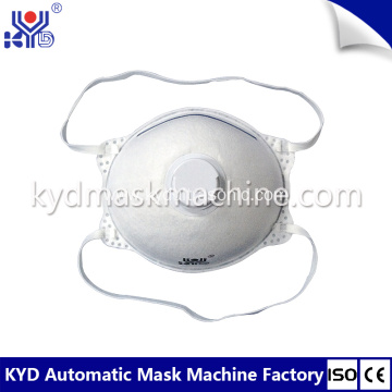Disposable N95 Cup Masks After Process