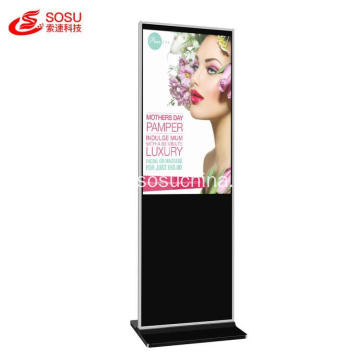 Interactive Touch Screen Digital Signage Display Slim Design