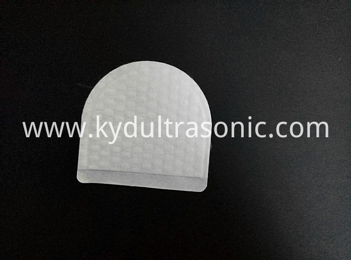 disposablehalf round cotton pad