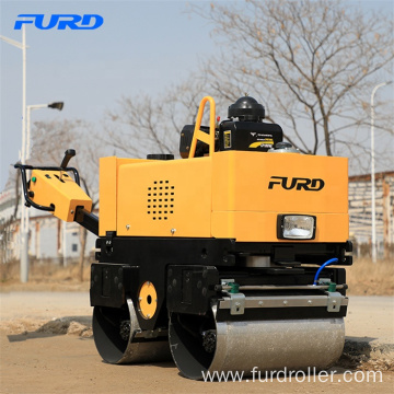 800kg Hydraulic Steering Vibratory Compaction Roller Compactor For Sale