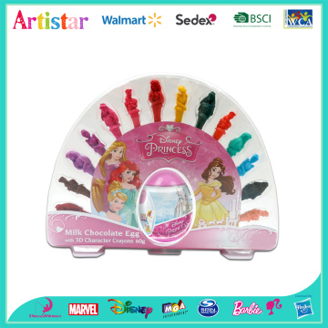 DISNEY PRINCESS 3Dcrayons with egg