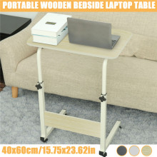 Portable Laptop Desk 60X40CM Computer Table Adjustable Rotate Laptop Bed Table Can be Lifted Removable Computer Standing Desk