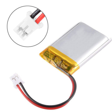 Rechargeable 603450 1100mah li-ion battery pack for GPS