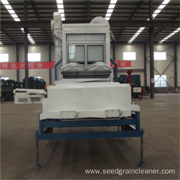 Sesame Seed Cleaning Machine with Destoning Table