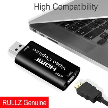Mini 4K HDMI Capture Card USB 2.0 Audio Video Record Box Online Course Study Video Grabber 1080P Support PC Game Live Streaming