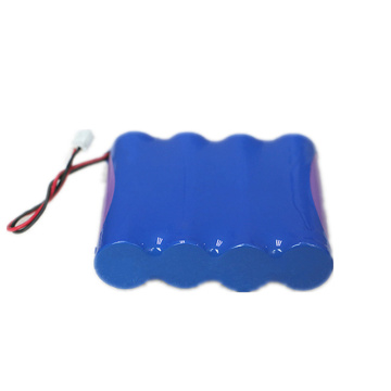 18650 1S4P 3.7V 11000mAh Lithium Ion Battery Pack