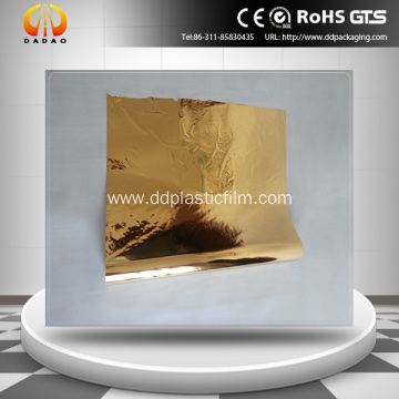 Gold Metallized Mylar Film for paper lamination