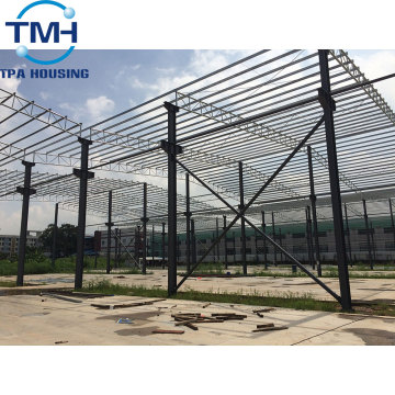 prefabricated warehouse metal steel structure design