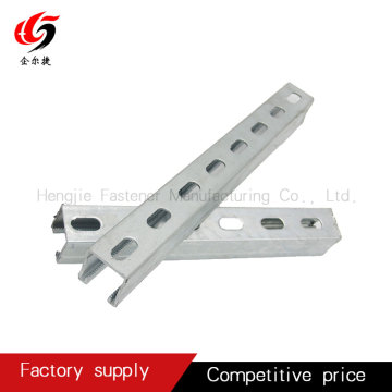 stainless steel slotted strut channel