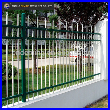 Non-welded Galvanized Zinc Steel Building Fence
