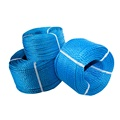 factory price wear-resisting twisted/braid nylon pp rope