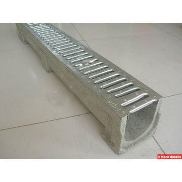 Galvanized or Stainless Steel Stamping Trench Drain