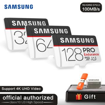 SAMSUNG MicroSD Card PRO 128GB TF Card 64GB 32GB Trans Flash Memory Card UHS-I U1 U3 Class10 SDXC SDHC 4K HD cartao de memoria