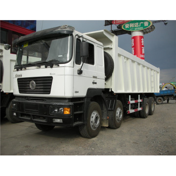 Shacman 8X4 380 HP dump truck for sale in dubai with weichai engine shacman dump truck
