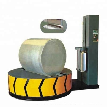 Heavy Duty Paper Roll Wrapping Machine