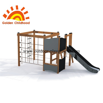 Climbing Net Frame For Playground