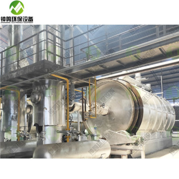 Crude Waste Used Oil Distillation Column Design