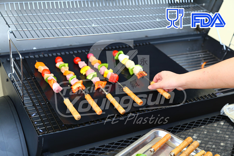 The Miracle Grill Mat which is Heat Resistant