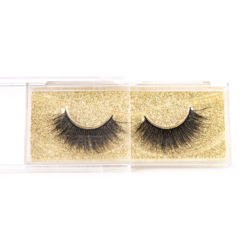 Shiny Real Fur Hand Made False Eyelashes