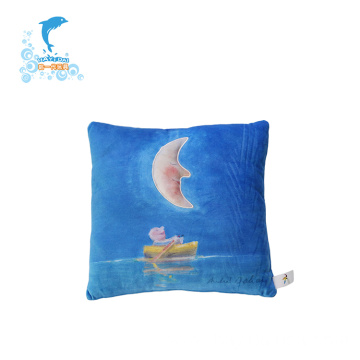 Promotion plush light toy pillow