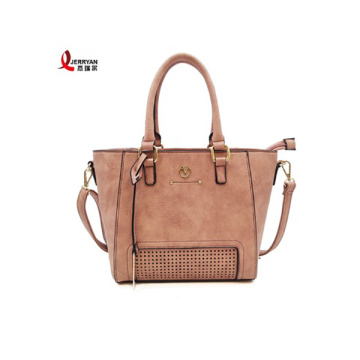 PU Leather Shopper Handbags for Young Girl