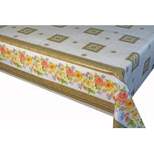 Pvc Printed Linens fitted table covers