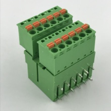 5.08mm pitch Double rows pluggable PCB terminal block