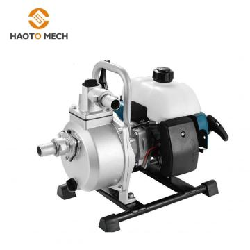 gasoline 2 stroke 1 inch water pump machine