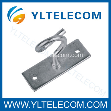 Fiber Cabling Metal Draw Hooks,FTTH C-hooks,C-Type Hook, Span Clamp