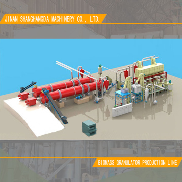 Complete Wood Pellet Production Line with Best Price