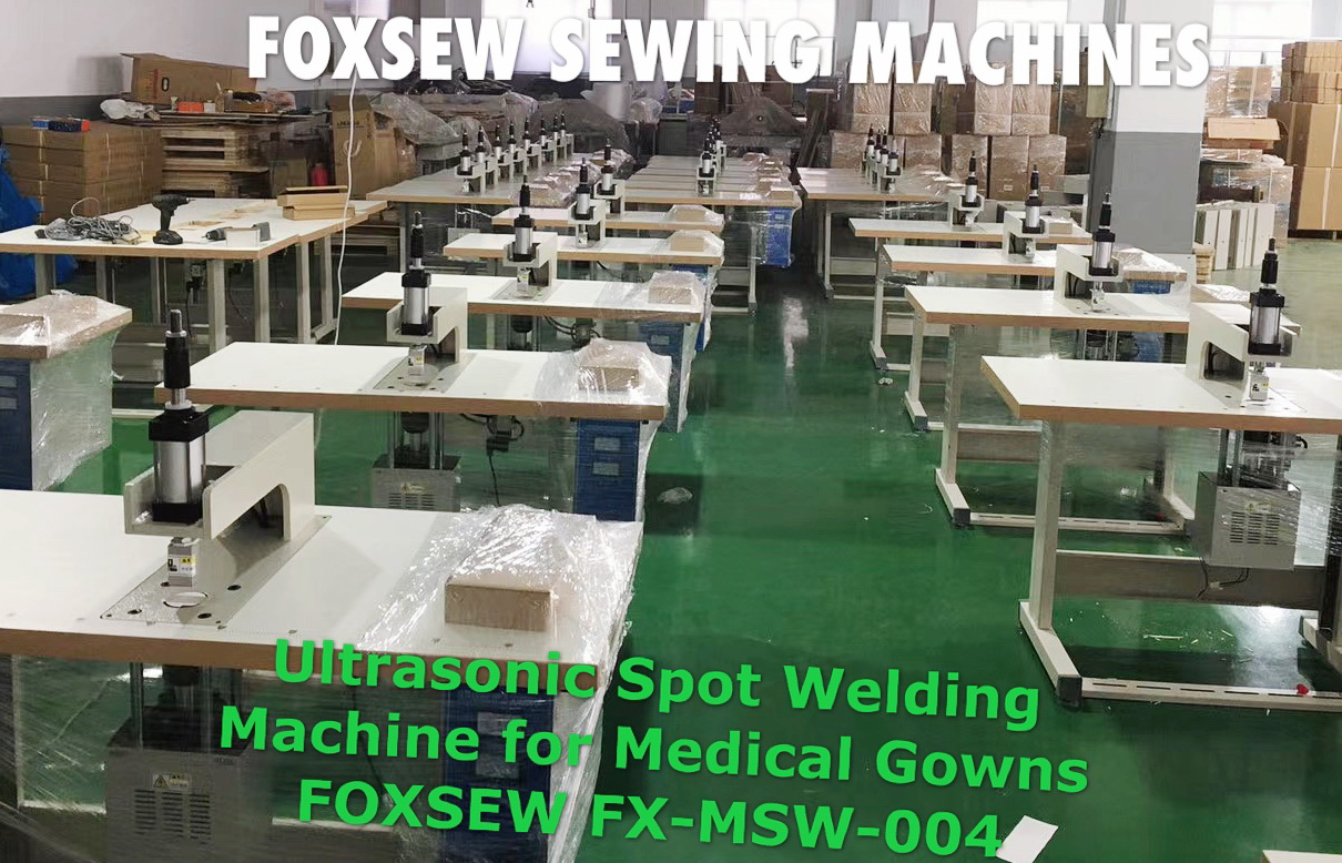 Ultrasonic Spot Welding Machine for Medical Gown FOXSEW FX-MSW-004 (1)