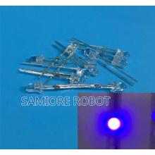 100PCS 3MM Purple / UV LED super bright F3 LED Diodes 390-410NM F3MM Diodes 3mm led 3mm uv /purple