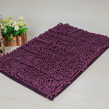 Solid Purple Rug Non Slip Toilet Rug