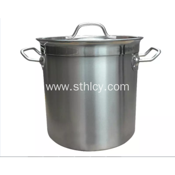 Cooking Stainless Steel Pail With Handle